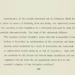 Press release : 1946 July 25