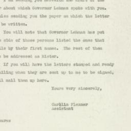 Letter : 1947 May 28