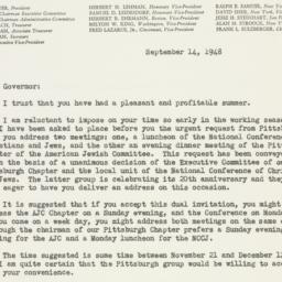 Letter : 1948 September 14
