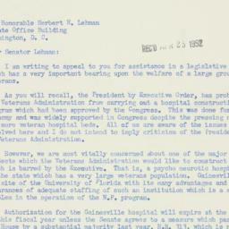 Letter : 1952 April 23