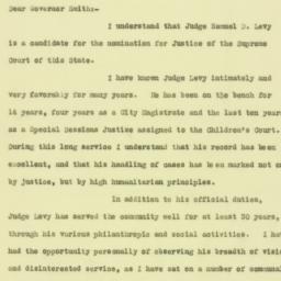 Letter: 1925 September 1