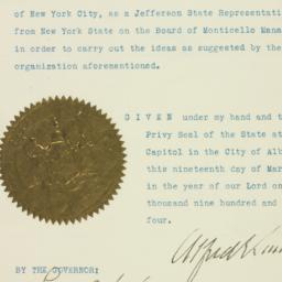 Certificate: 1925 March 19