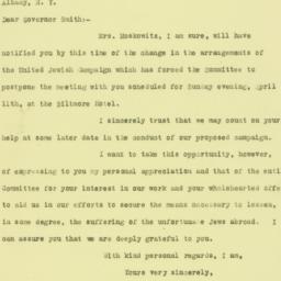 Letter: 1926 April 8