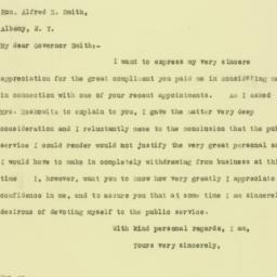 Letter : 1926 April 21