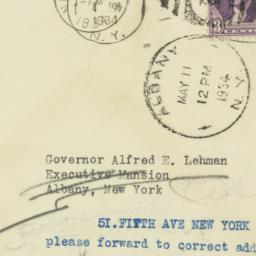 Envelope : 1934 May 11