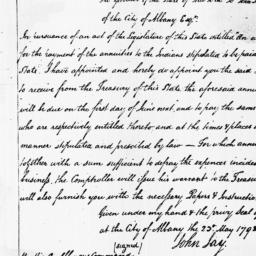 Document, 1798 May 23