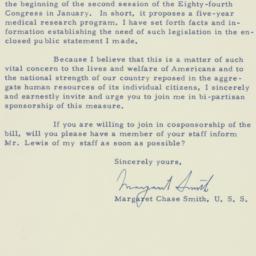 Letter : 1956 January 2