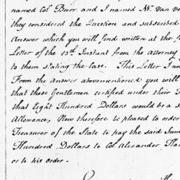 Document, 1798 March 31