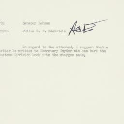 Memorandum : 1952 July 4