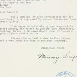 Letter: 1940 March 22