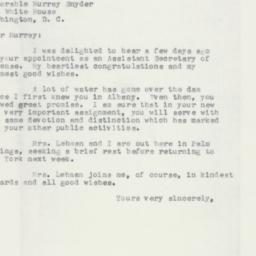 Letter: 1957 February 28