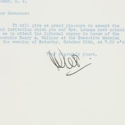 Letter : 1940 October 23