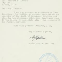 Letter : 1939 October 23