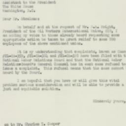Letter : 1950 February 7