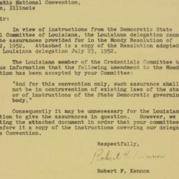 Letter : 1952 July 23