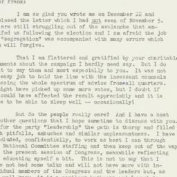 Letter : 1952 December 29