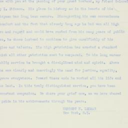 Telegram : 1950 October 21