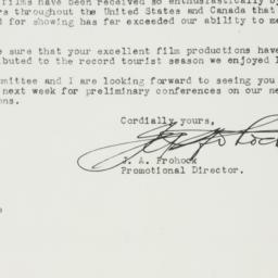 Letter : 1950 June 14