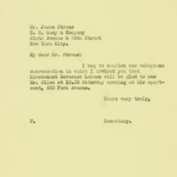 Letter : 1931 February 25