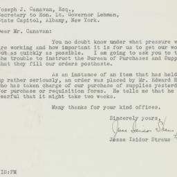 Letter : 1931 October 16