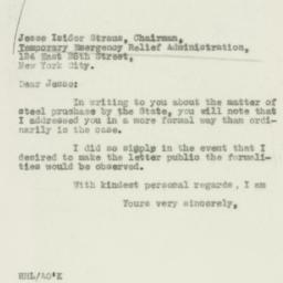 Letter : 1931 December 3