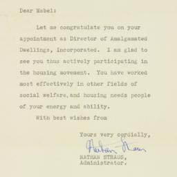 Letter : 1938 October 13