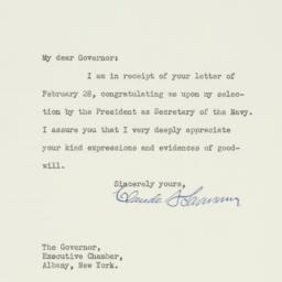 Letter : 1933 March 7