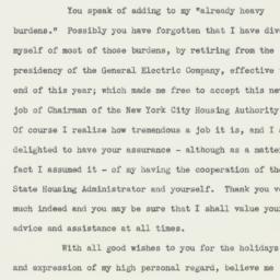 Letter : 1939 December 15