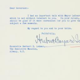 Letter : 1934 November 23
