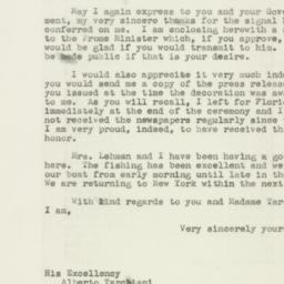 Letter : 1946 May 27