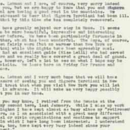 Letter : 1957 August 26