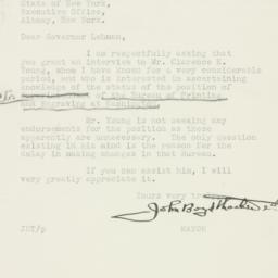 Letter : 1934 September 21