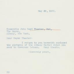 Letter : 1935 May 22
