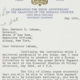 Letter : 1936 May 13