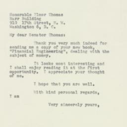 Letter : 1954 February 8