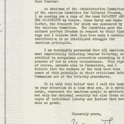 Letter : 1954 August 30