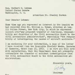 Letter : 1953 June 20