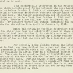 Letter : 1950 March 27