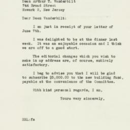 Letter : 1946 June 10