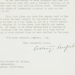 Letter : 1946 December 18