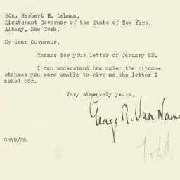 Letter : 1931 January 28