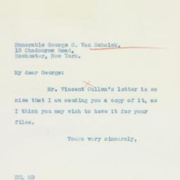 Letter : 1935 May 11