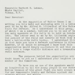 Letter : 1941 September 28