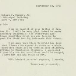 Letter : 1940 September 22
