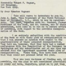 Letter : 1932 September 9