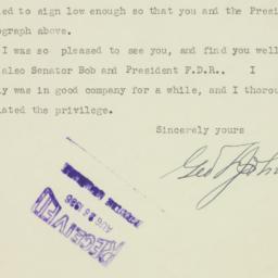 Letter : 1936 August 24