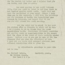 Letter : 1916 December 26