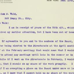 Letter : 1917 January 11