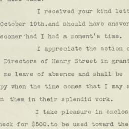 Letter : 1917 October 29