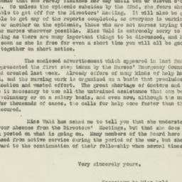 Letter : 1918 October 18